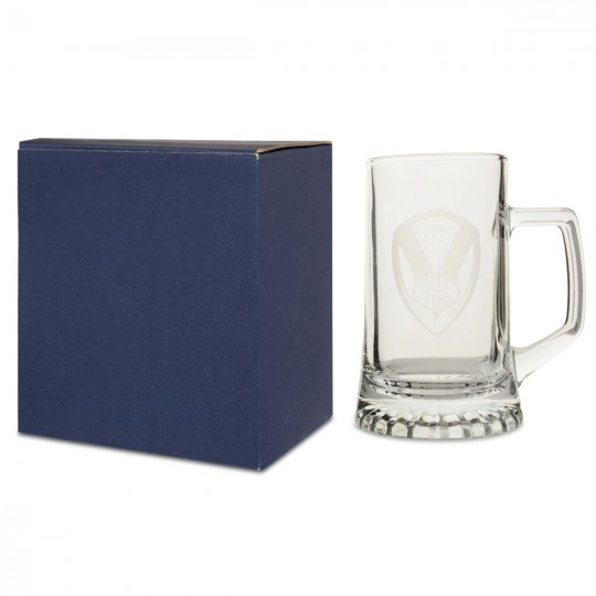Etched Pint Tankard