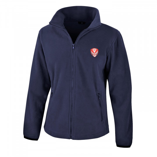 Embroidered Adults Fleece Jacket
