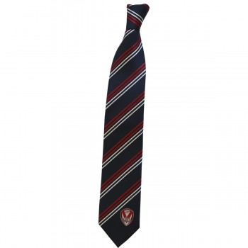 Striped Tie Navy