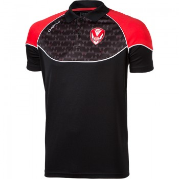 2018 Training Polo Black/Red