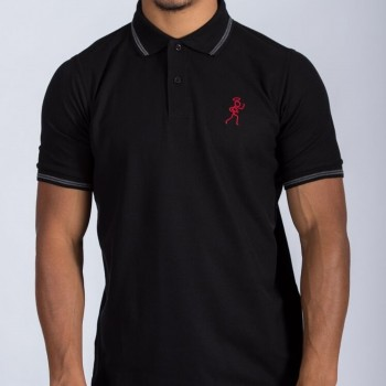 Stickman Polo Black