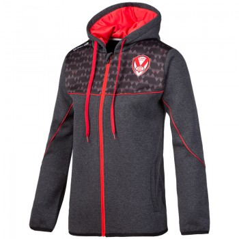 2018 Ladies Zipped Hoody