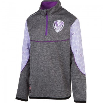 2018 Girls Squad Top Grey/Lilac