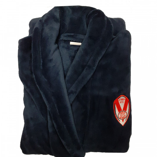 Navy Mens Dressing Gown