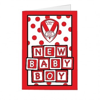 Saints Baby Boy Card