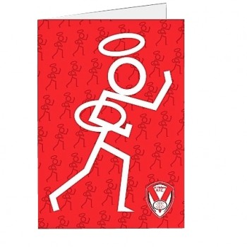Stickman Birthday Card
