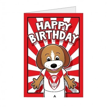 Boots Birthday Card