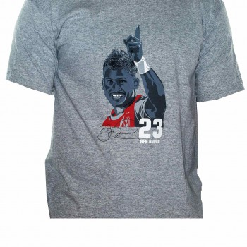 Kids Grey Ben Barba T-shirt