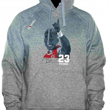 Grey Ben Barba Hoody
