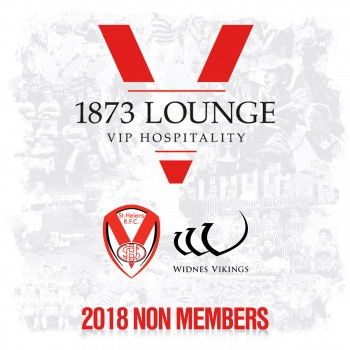 Widnes Vikings 6-7-18. Non-Member Hospitality