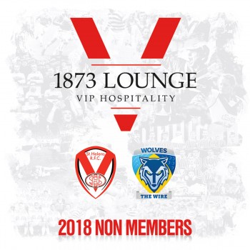 Warrington Wolves 26-7-18. Non-Member Hospitality