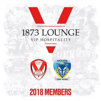 Warrington Wolves 26-7-18. Member Hospitality
