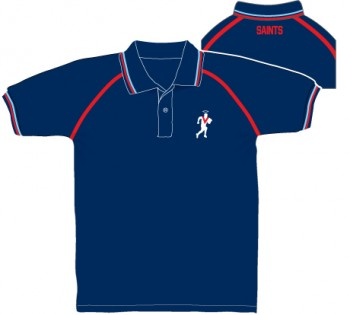 Navy Polo Player Logo