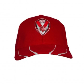 2019 Brushed Cotton Cap Red