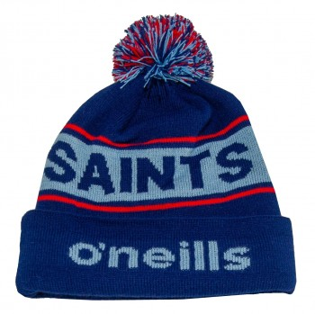 Saints Text Bobble Navy/Sky