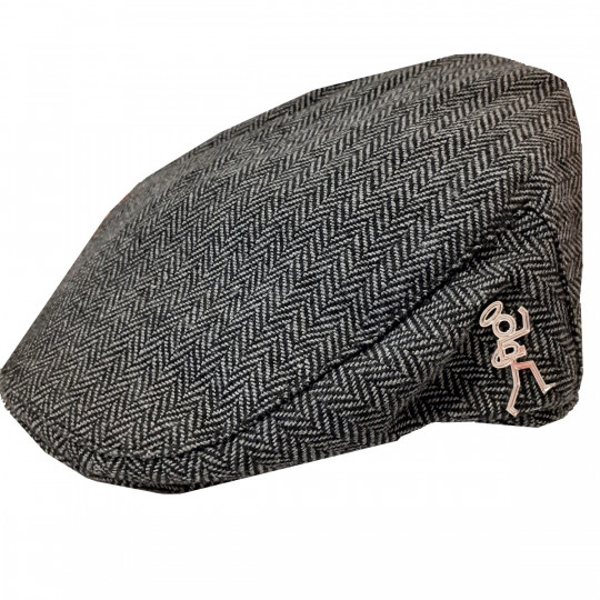 Stickman Tweed Flat Cap