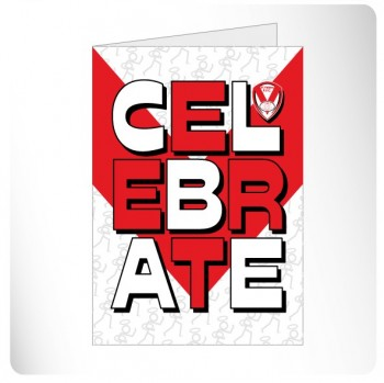 Celebrate Text Card