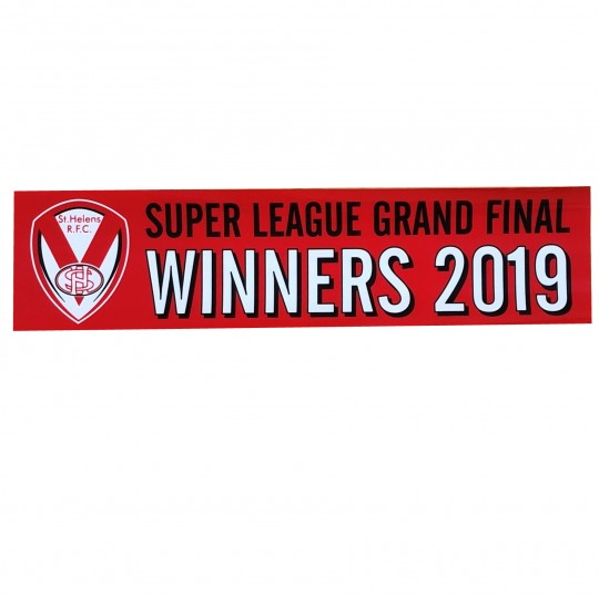 Red GF Winners Sticker