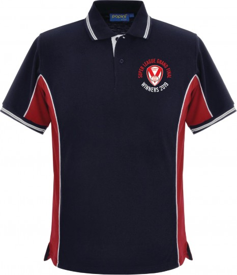 2019 GF Winner Polo Navy/Red/White