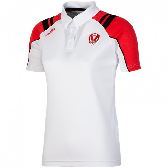 2020 Targon Ladies Polo White