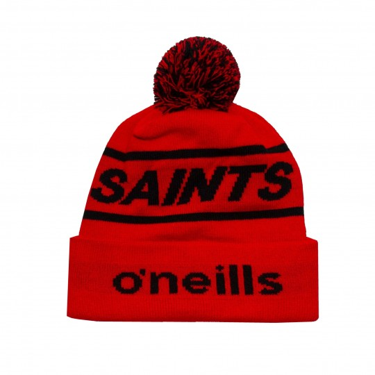 2020 SAINTS Bobble Hat Red