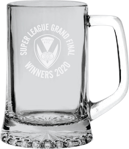 2020 GF Etched Pint Tankard