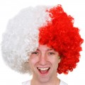 Wig- Red/White