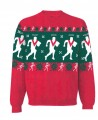 Xmas Sweater Red Vee Player