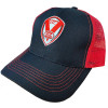 Trucker style Baseball Cap Red/Black