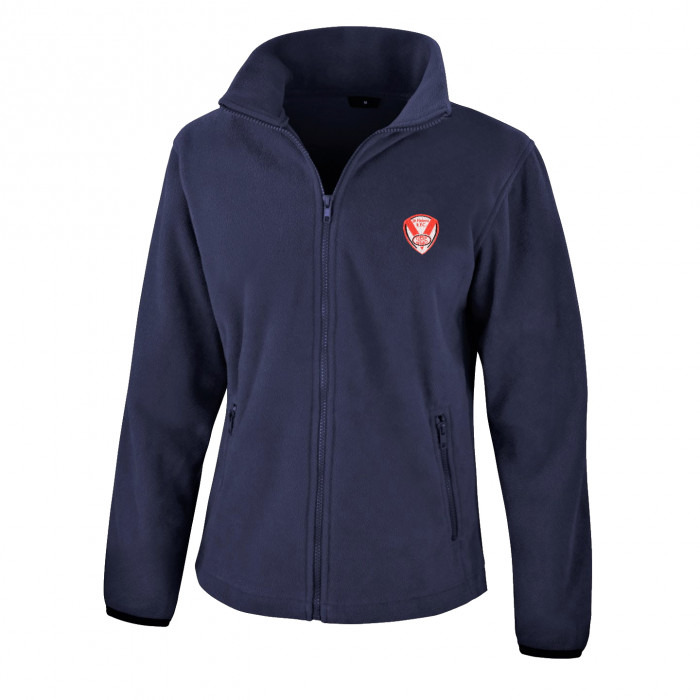 Embroidered Ladies Fleece Jacket