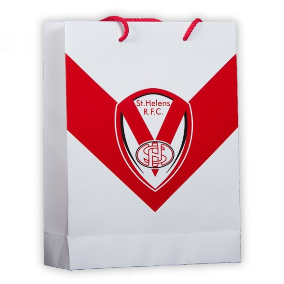 Red Vee Gift Bag