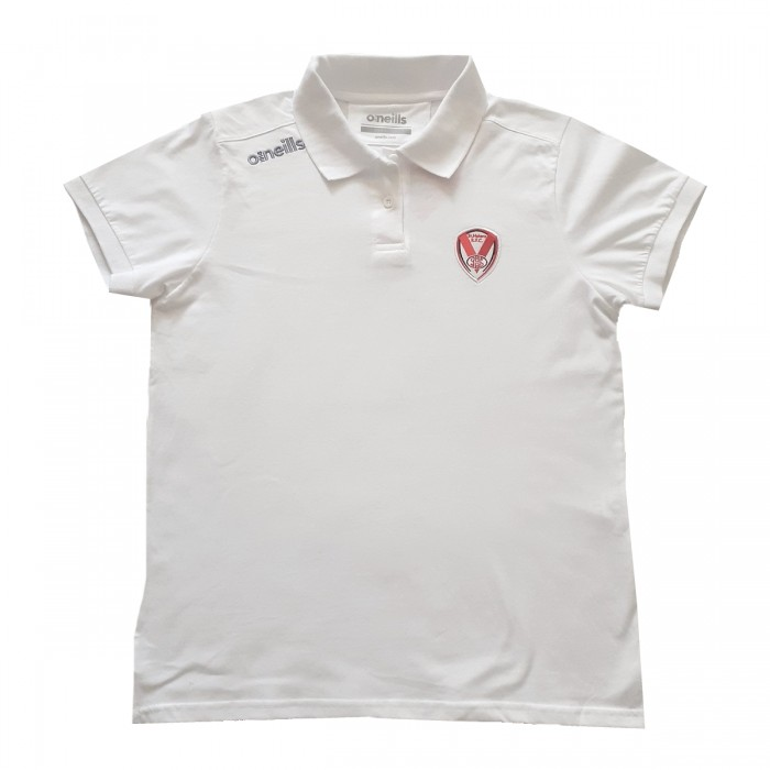 Ladies Portugal Polo White