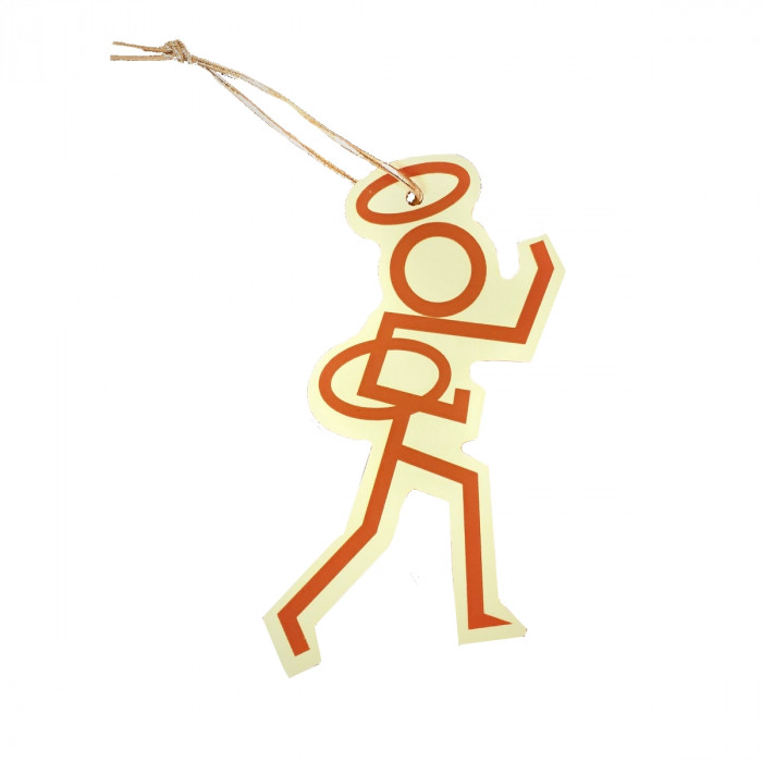 Stickman Wooden Decoration