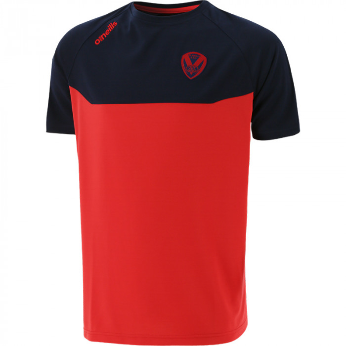 2021 Perry T-Shirt Red/Navy