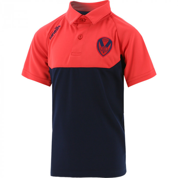 2021 Kids Perry Polo Navy/Red