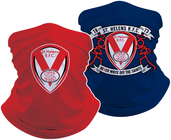 Saints Reversible Snood Red/navy